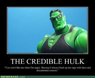 hulk don't like mythicists