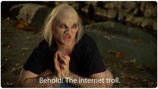 Behold The Internet Troll